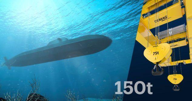 thyssenkrupp Marine Systems zamawia 14 suwnic procesowych firmy Demag