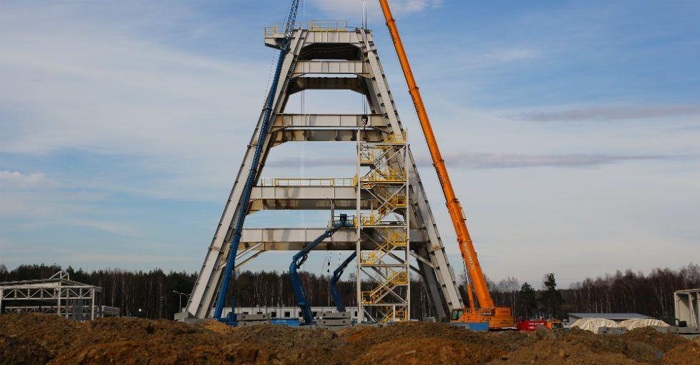 Pionierska wieża przyspieszy budowę szybu Grzegorz