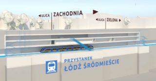 Podziemna linia kolejowa w Łodzi. Rozpoczęcie budowy w czerwcu!