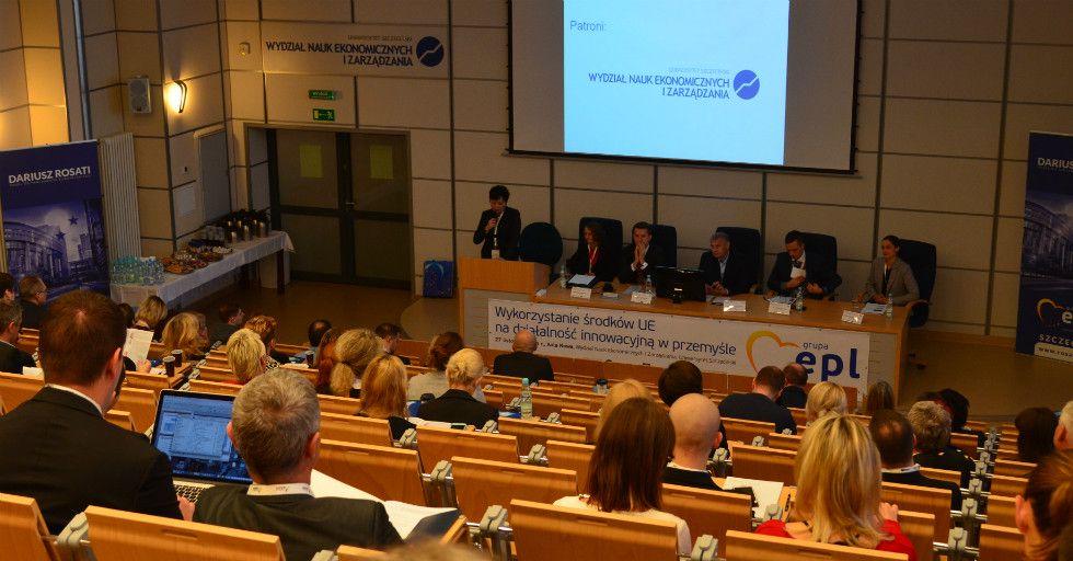 Wykorzystanie środków UE na działalność w przemyśle – konferencja US