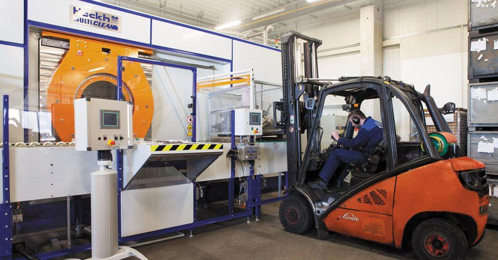 Obróbka powierzchniowa metali na usługach VIA