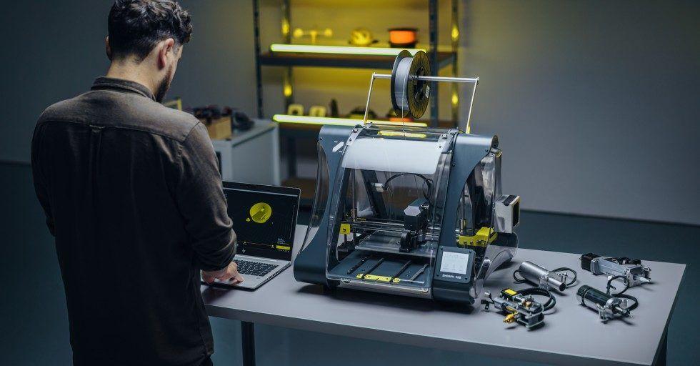 Zmorph prezentuje nową wielofunkcyjną drukarkę 3D