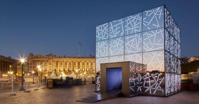 Mobilne Pawilony w centrum Paryża